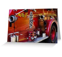 Fireman - Engine no 2  Greeting Card