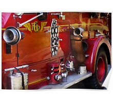 Fireman - Engine no 2  Poster