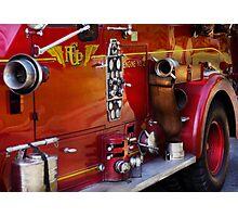Fireman - Engine no 2  Photographic Print