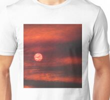 Sun Behind Smoke Unisex T-Shirt
