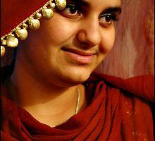 A young punjaban by Amrit Ammu