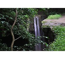 Another View of the Waterfall at Rockbridge Photographic Print
