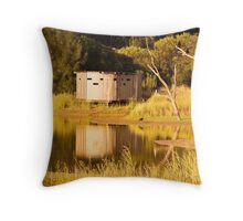 Reflections at Greenfields Wetlands Throw Pillow