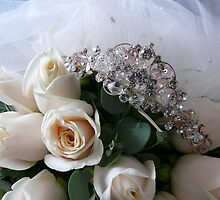 Bride's Boquet and Tiara by elsha