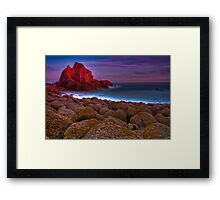 Dusk at The Pinnacles #1 Framed Print