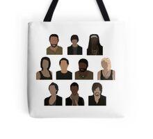The Walking Dead Cast - Minimalist style Tote Bag