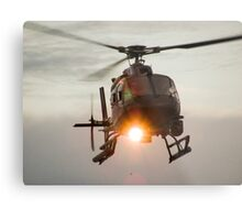 ABC Helicopter Metal Print