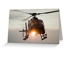 ABC Helicopter Greeting Card