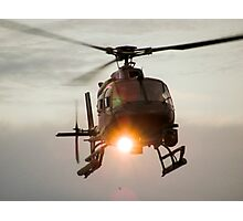 ABC Helicopter Photographic Print