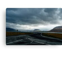 Road to nowhere fast  Canvas Print