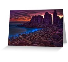 Dusk at The Pinnacles #2 Greeting Card