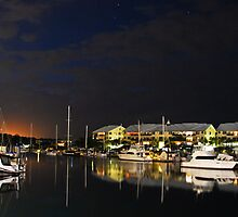 Serene Waters - Raby Bay Qld Australia by Beth  Wode