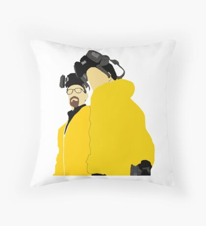 Jesse and Walt - Breaking Bad Throw Pillow