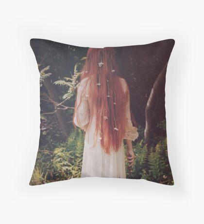 May Queen Throw Pillow