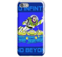 Toy Story Buzz Lightyear To Infinty And Beyond iPhone Case/Skin