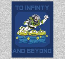 Toy Story Buzz Lightyear To Infinty And Beyond by shaz3buzz2