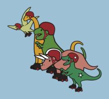 Roller Derby Dinosaurs by jezkemp