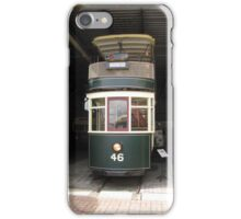 Hobart Double Deck Tram iPhone Case/Skin