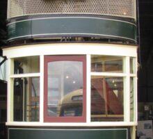 Hobart Double Deck Tram Sticker