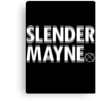 Slender Mayne Shook Up Canvas Print