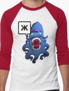 Flight of the Squid - Variant X Men's Baseball ¾ T-Shirt