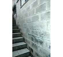 concrete wall Photographic Print