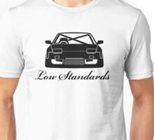 Low Standards Decal - Black Unisex T-Shirt