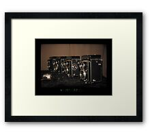 Rolleis through EOS RT Framed Print