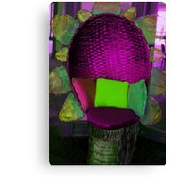 Abstract chair Canvas Print