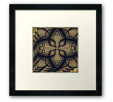 dune rosary Framed Print
