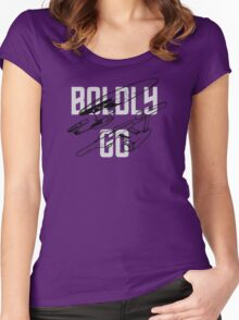 BOLDLY GO Women's Fitted Scoop T-Shirt