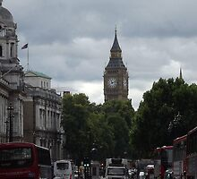 A Busy Day In London by Jacqueline Turton