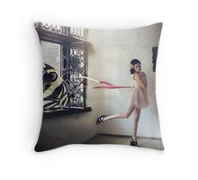 a catch Throw Pillow