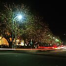 Salamanca Light Trails by Derwent-01