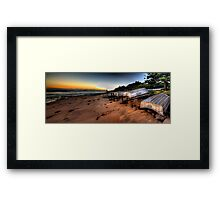 Better days  - Long Reef Aquatic Park, Sydney (28 Exposure HDR Panoramic) - The HDR Experience Framed Print