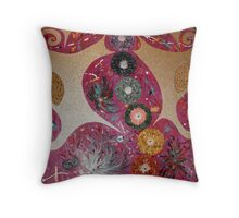 Dragonfly : (Two Worlds Collide)  (Series 1 ) Throw Pillow