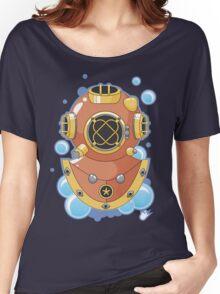 Vector Diving Helmet Women's Relaxed Fit T-Shirt