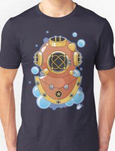 Vector Diving Helmet Unisex T-Shirt