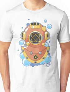 Vector Diving Helmet Unisex T-Shirt