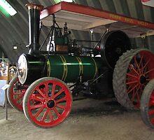 Traction Engine, Pearns' Steam World by Derwent-01