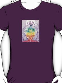 Hands and Heart Chakra Doodle T-Shirt