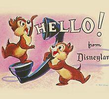 Hello Chip 'n' Dale by ShopGirl91706