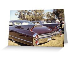 1960 Caddy Greeting Card