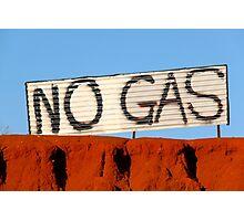 NO GAS @ James Price Point Photographic Print