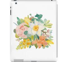 Spring bouguet iPad Case/Skin