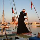 Egyptian Felluca.. (Taking Tourists On THe Nile) by eithnemythen