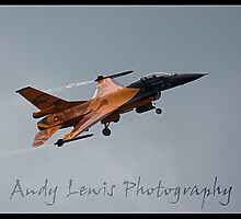 Netherlands F16 at cosford 2010 by andy lewis
