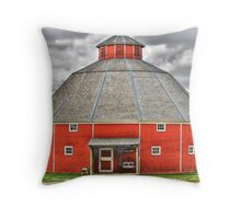 Octagon Barn Throw Pillow