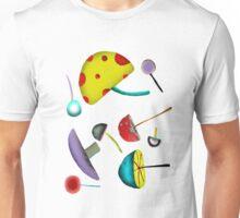 Mushroom mushy Psychedelic wild peace1969 love Unisex T-Shirt