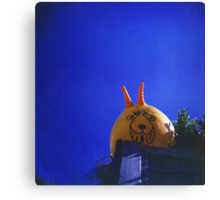 spaced hopper Canvas Print